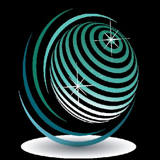 Transparent logo design
